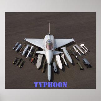 航空機の爆弾の表示 ポスター