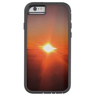 航空機のIPhoneカバーからの日没 Tough Xtreme iPhone 6 ケース