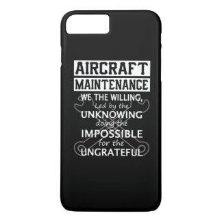 航空機整備 iPhone 8 PLUS/7 PLUSケース