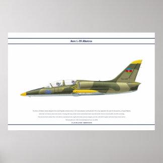 航空機L-39アゼルバイジャン ポスター
