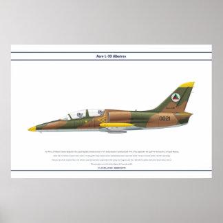 航空機L-39アフガニスタン ポスター