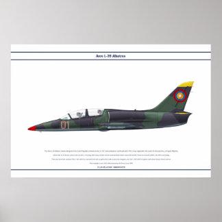 航空機L-39アルメニア ポスター