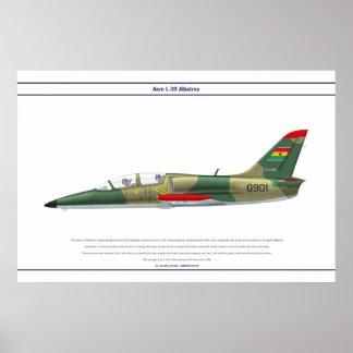 航空機L-39ガーナ ポスター