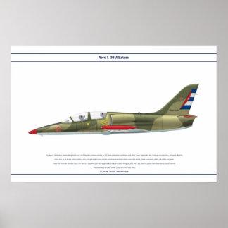 航空機L-39キューバ ポスター