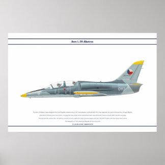 航空機L-39チェコスロバキア共和国1 ポスター