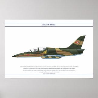 航空機L-39ハンガリー ポスター