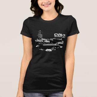 航空母艦のセオドア・ルーズベルトのワイシャツ Tシャツ