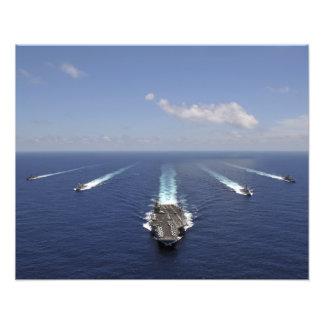航空母艦USS Abraham Lincoln 2 フォトプリント