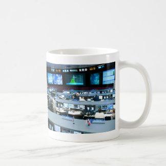航空管制部屋のジョンソンの宇宙センター コーヒーマグカップ
