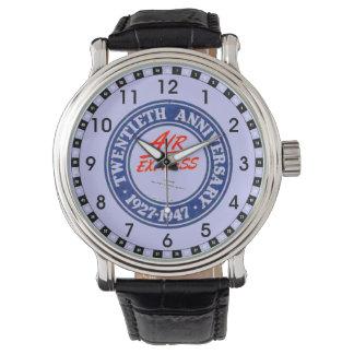 航空速達の第20記念日 腕時計