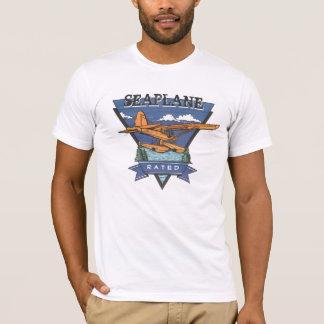 航空-評価される水上飛行機 Tシャツ