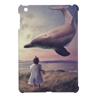 航行のクジラの腕時計 iPad MINI カバー