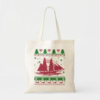 航行のクリスマス トートバッグ