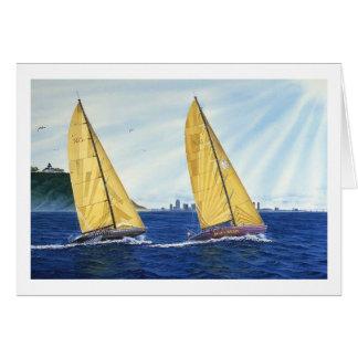 航行のサンディエゴ湾 カード