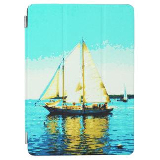航行のスクーナー船のipadカバー iPad air カバー