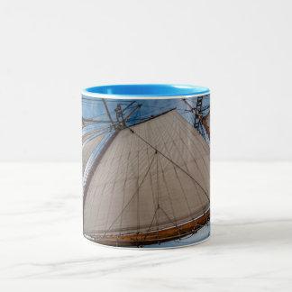 航行のマグ ツートーンマグカップ