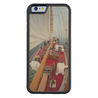 航行の境界パス CarvedメープルiPhone 6バンパーケース