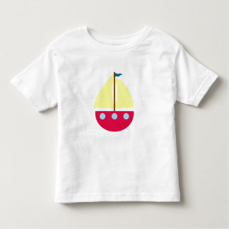 航行ボート トドラーTシャツ