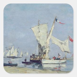 航行ボート、c.1869 スクエアシール