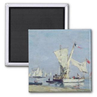 航行ボート、c.1869 マグネット