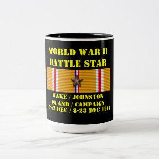 航跡/ジョンソン島のキャンペーン ツートーンマグカップ