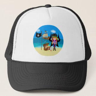 船および宝物帽子との海賊Faery キャップ