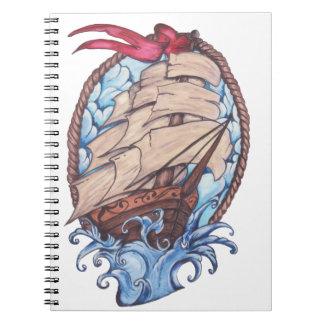 船のノート ノートブック