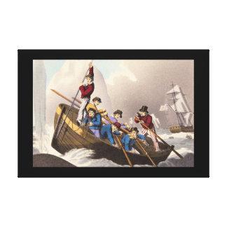 船のボートAttacking_Engravings キャンバスプリント