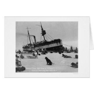 船の到着Nome、アラスカ1914年 カード
