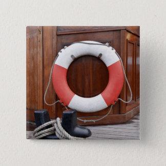 船の安全ベルト 5.1CM 正方形バッジ