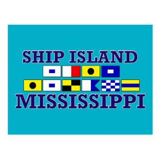 船の島-郵便はがき ポストカード