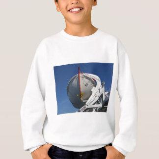 船の救命ボート スウェットシャツ