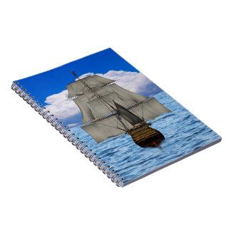 船の航行のノート ノートブック