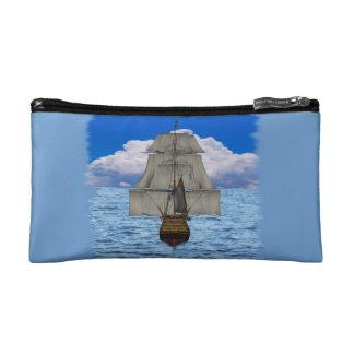 船の航行 コスメティックバッグ