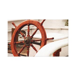船の車輪 キャンバスプリント