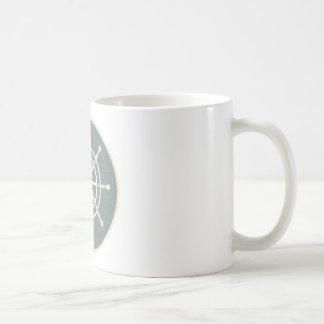 船の車輪 コーヒーマグカップ