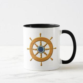 船の車輪 マグカップ