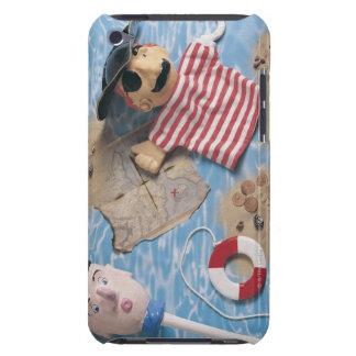 船員および海賊パペット頭部 Case-Mate iPod TOUCH ケース