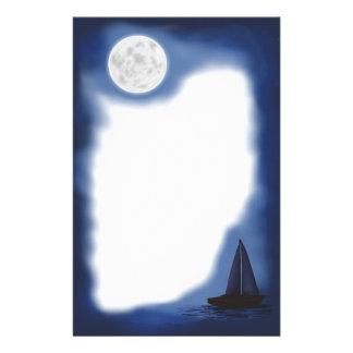 船員の月の~MoonlightのSailboat~の文房具 便箋