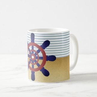 船員の車輪のマグ コーヒーマグカップ