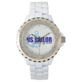 船員は私のハートを固定しました 腕時計
