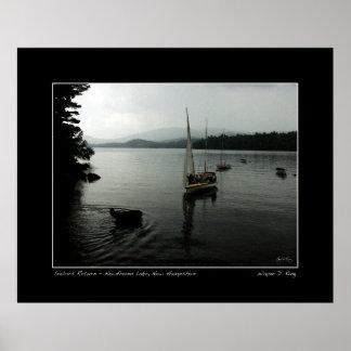 船員は、湖のニューハンプシャー新しいポスター戻ります ポスター