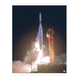 船員I金星NASAの方の宇宙への1台のロケット ポストカード