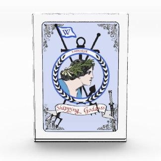 船積みの女神のモニークのネームプレート 表彰盾