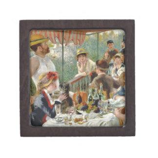 船遊びのパーティのヴィンテージルノアールの昼食会 ギフトボックス