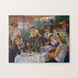 船遊びのパーティーのファインアートのルノアールの昼食会 ジグソーパズル