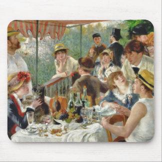 船遊びのパーティーのヴィンテージルノアールの昼食会 マウスパッド