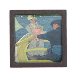 船遊びのパーティー1893-94年(キャンバスの油) ギフトボックス