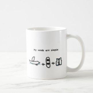 船遊びは私が必要とするすべてです コーヒーマグカップ