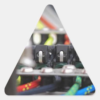 船遊び装置 三角形シール